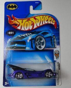 Hot Wheels Batmobile MOC 2004 First Editions 001 1/100