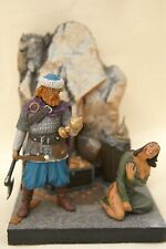Wikinger mit Sklavin, Zinnfiguren, 54mm