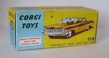 Repro box CORGI Nº 221 CHEVROLET new york taxi