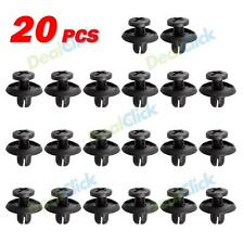 20pcs Retainer Clips Fasteners Bumper Fender Hood Splash Shield Protector