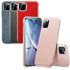 iPhone 11 / 11 Pro / 11 Pro Max Dual-Layer Glitter Protective TPU Gel Case Cover