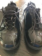 Marc Ecko Mens Sz 10/M Black Patten Leather Shoes