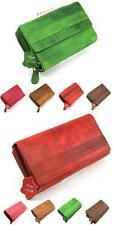 Damen Echt Leder Portemonnaie Brieftasche,Geldbörse,Wallet, Etuis  SJ-00V100-2