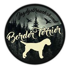 A _ JGh Voiture Autocollant Border Terrier chien chiens autocollants CHIENS siviwonder