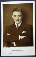 Werner Pittschau - Photo Postcard - AK - Foto Autogramm Karte (Lot G-5280