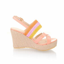 Women's Casual Striped Sandals and Beach Shoes