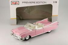 Cadillac Eldorado Biarritz Année modèle 1959 rose 1:18 Maisto