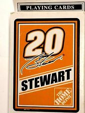 NASCAR Playing Cards, #20 Tony Stewart, New