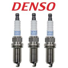 Set of 3 Spark Plugs Gap 0.040 Denso For Mitsubishi Hyundai Infiniti Nissan Kia