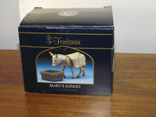 "Fontanini 5"" Collection Mary's Donkey 2005  Blanket & Water Trough 54020"