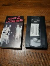 Night of the Living Dead 1968 VHS Classic Horror Halloween Movie Zombie Romero