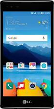 Verizon Prepaid - LG K8 V 4G LTE with 16GB Memory Prepaid Cell Phone - Onyx