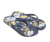 Joules Flip Flops (Navy Botanical)