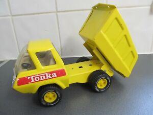 1970's VINTAGE TONKA TIPPER TRUCK LOADER METAL VINTAGE TOY 22CMS LONG