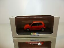 MINICHAMPS VW VOLKSWAGEN LUPO - RED 1:43 - EXCELLENT IN SPECIAL BOX