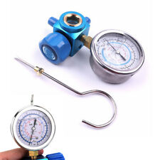 R410A R22 R134A Refrigerant Low Pressure Gauge 1/4 Car Air Conditioning Tool