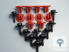 20 Pièces dispositifs de protection arrière boîte de vitesses protection CLIPS pour Ford C-Max, Focus, Mondeo