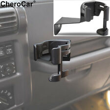 Multi-Function Drink Cup Phone Holder Stand Bracket fit 97-06 Jeep Wrangler TJ G