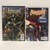BATGIRL ANNUAL 2014 & 2015 DC Comics #2 & #3 Batman Nightwing Grayson Comic Book