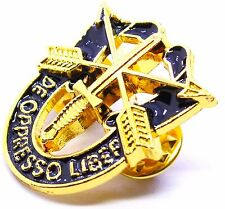 SPECIAL FORCES CREST SF Hat Pin DE OPPRESSO LIBER GOLD
