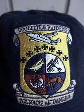 Doolittle Raiders WWII ball cap leather strap military veterans trucker hat