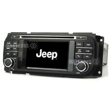 Car Dvd Gps Radio Navigation For Jeep Grand Cherokee Dodge Ram Chrysler Sebring (Fits: Dodge Intrepid)