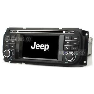 Car DVD GPS Radio Navi Stereo For Jeep Grand Cherokee Dodge RAM Chrysler Sebring