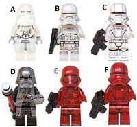 Star Wars Stormtrooper Ground Force Compatible Custom Lego Mini Figure Commander