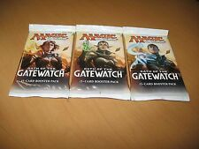 3x Oath of the Gatewatch Booster Packs MtG Draft Magic the Gathering
