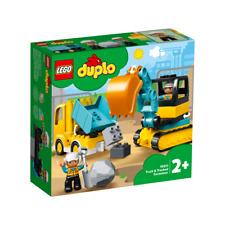 LEGO DUPLO 10931 CAMION E SCAVATRICE CINGOLATA GIU 2020