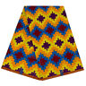 1yard African Mosaic Pattern Wax Polyester Prints Fabric Garment Sewing Material
