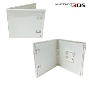 New Nintendo 3DS Replacement Retail Game Cartridge Case (White)