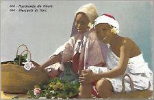 AK - LEHNERT & LANDROCK - Nr. 668 - Marchands de fleurs / Mercanti di fiori