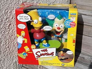 The Simpsons Radio Control Skateboarding Bart Simpson Never Removed From Box