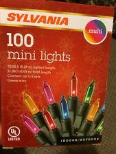 Sylvania 100 mini lights Multi Color (Send Best Offer!)