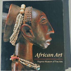 african art virginia museum of fine arts paperback book