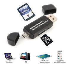 OTG Micro USB  to USB 2.0 Adapter SD Card Reader For Android Phone Tablet Galaxy