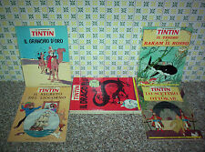 LE AVVENTURE DI TIN TIN GANDUS 1967/68 SERIE COMPLETA 1/8 OTTIMA