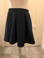 Gonna corta blu GLAMOROUS at ASOS navy skirt UK12 EU40 IT44