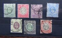 East Africa and Uganda 1903 - 1904 values to 5a Used