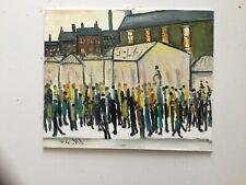Friday Night Market  Original  Oil Painting direct from artist john Goodlad
