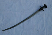 old vintage Mughal Rajput karanshahi hilt /sirohi tulwar sword sekela blade  #4