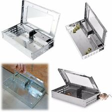 Cat Mouse Live Trap Multi Catch Mice Traps Rodent Control Catch Hunting Cage Us