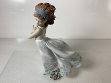 New ListingLladro Floral Path Girl with Basket of Flowers Gloss Finish Figurine 6646