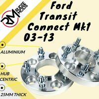 Ford Transit Connect Mk1 5x108 25mm Hubcentric wheel spacers 1 pair - UK MADE