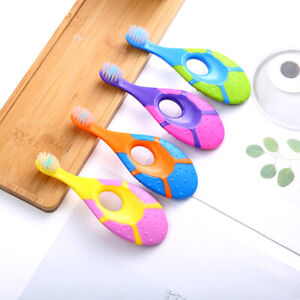 2x Newborn Safe Baby Silicone Teethers Bendable Activity Toothbrush Toy  H4J.bl