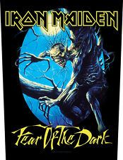 IRON MAIDEN - Rückenaufnäher Backpatch Fear of the dark