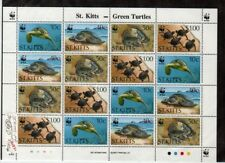 St. Kitts Scott 381-4 Mint NH mini-sheet (Catalog Value $32.00)