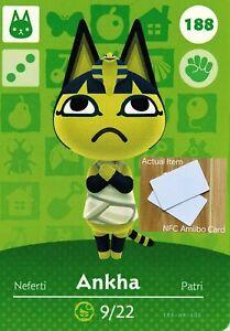 Ankha Amiibo Animal Crossing New Horizons Amiibo NFC Card-Fast Free Shipping!