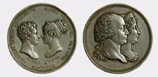 006) SAVOIA - Vittorio Emanuele I (1802-1821) - Medaglia - 1820 - Nozze